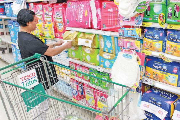 Thailand's adult diaper market will become larger than the baby diaper market