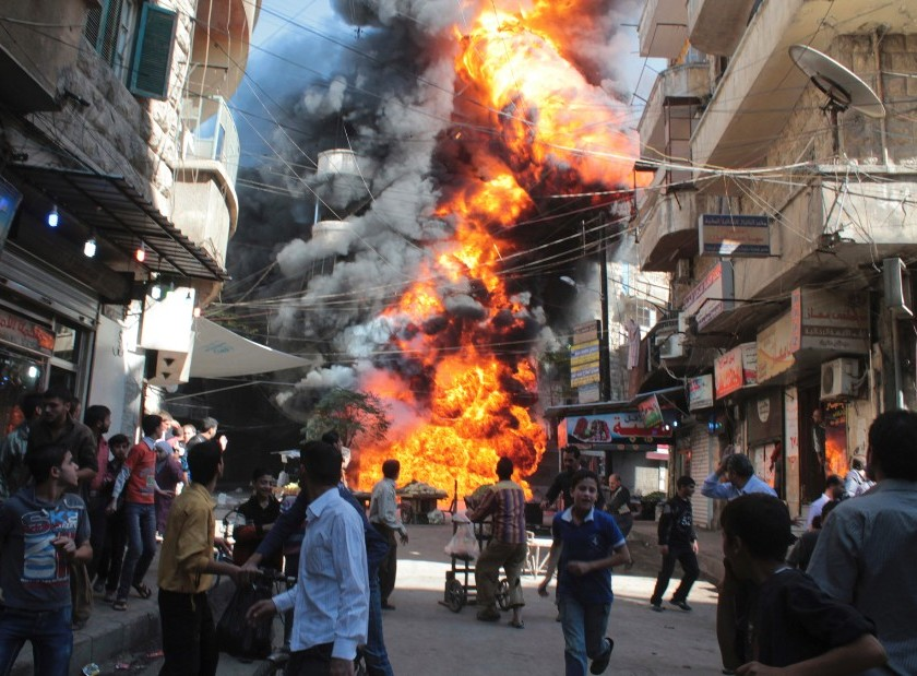 Since the war began in 2011, an estimated 400,000 Syrians have been killed, according to the United Nations.