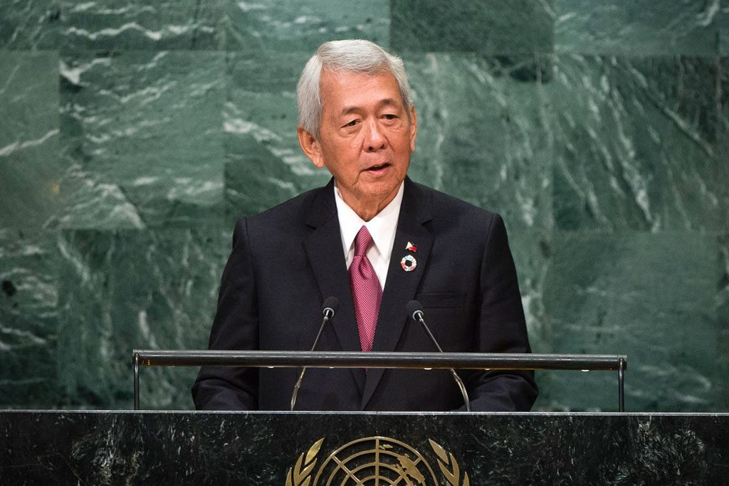 Philippines' anti-drug fight 'grabs headlines for wrong reasons,' Foreign Secretary tells UN. H.E. Mr. Perfecto Yasay, Secretary for Foreign Affairs of Philippines