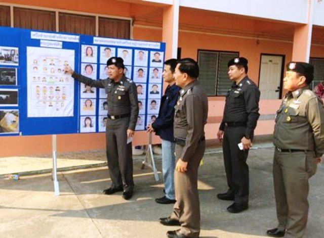 Thai Police discuss the seizure of assets gained as the result of drug trafficking as part of the Safe Mekong Project.