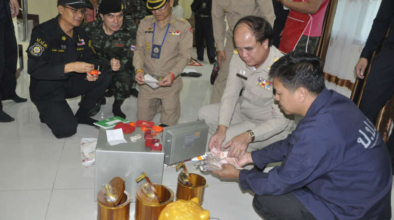 local officials are involved in a project to free these villages of drugs.