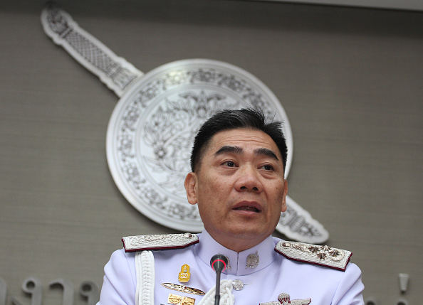 BANGKOK, THAILAND - 2016/01/08: Thai National Police Chief Pol. Lt. Gen Chakthip Chaijinda spoke at a press conference to give an update on investigations into who was responsible for breaking into a number of Royal Thai Police websites. (Photo by Vichan Poti/Pacific Press/LightRocket via Getty Images)