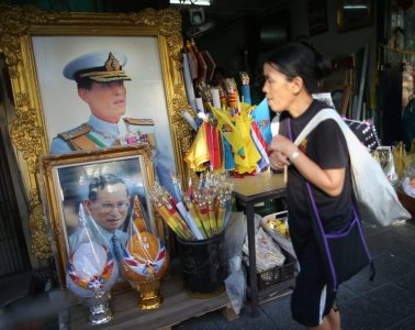 preparations are being made for Prince Vajiralongkorn, the late king's designated heir, to ascend the throne Photo Diego Azubel