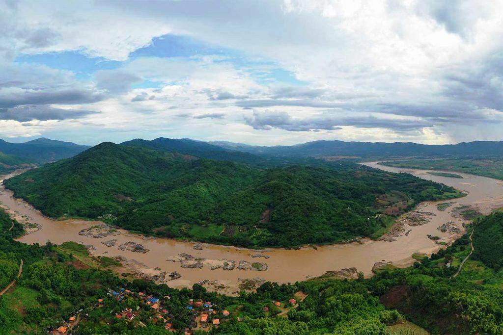 Chinese dams held back Mekong waters