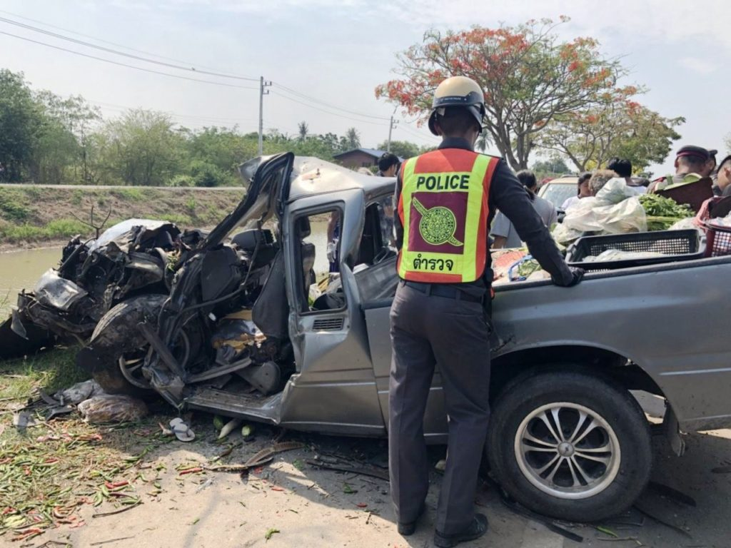 health certificates, road accidents, Thailand