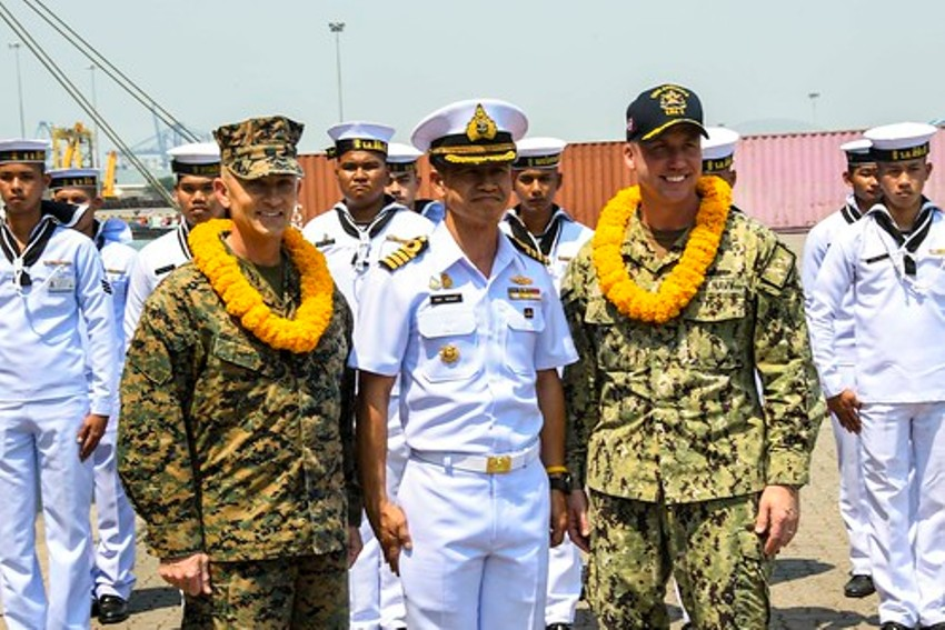 US Navy and Marines in Thailand
