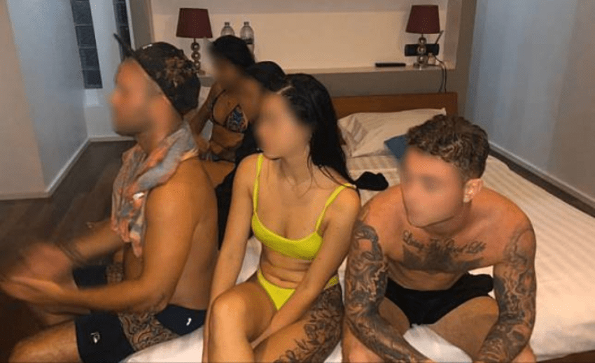 foreigners arrested for partying