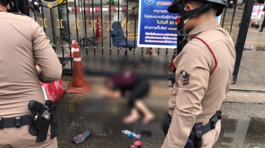 suicide rate poison bangkok