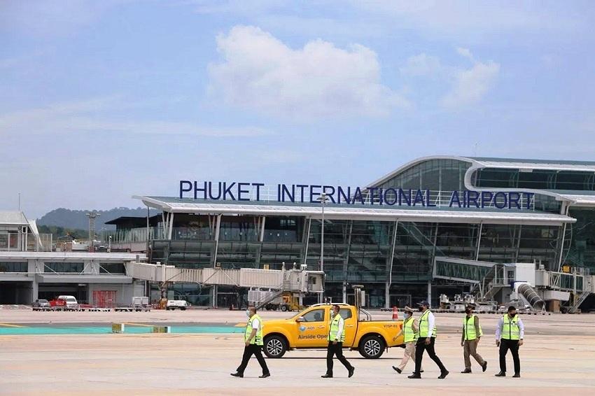 phuket-airport, danger zone, covid-19 coronavirus
