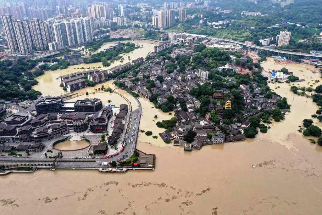 Torrential Monsoon Rains Test the Limits of China's Three Gorges Dam